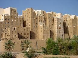 Shibam, una antica città dello Yemen completamente costruita con l'argilla http://www.dozarte.com/
